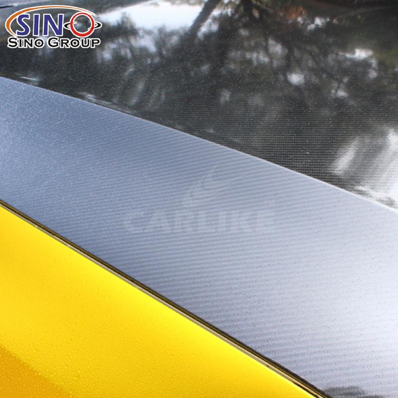 CARLIKE CL-6DCF  Super Brilho 6D Vinil de Fibra de Carbono