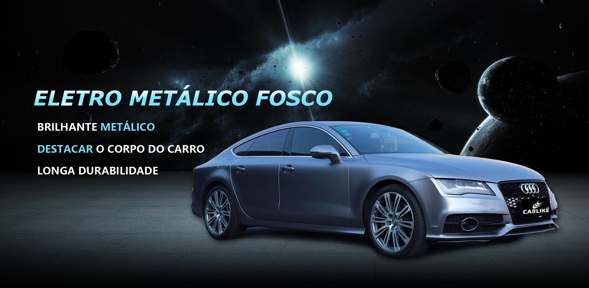 CARLIKE CL-EM Envoltório Eletro Metálico Do Carro Do Vinil
