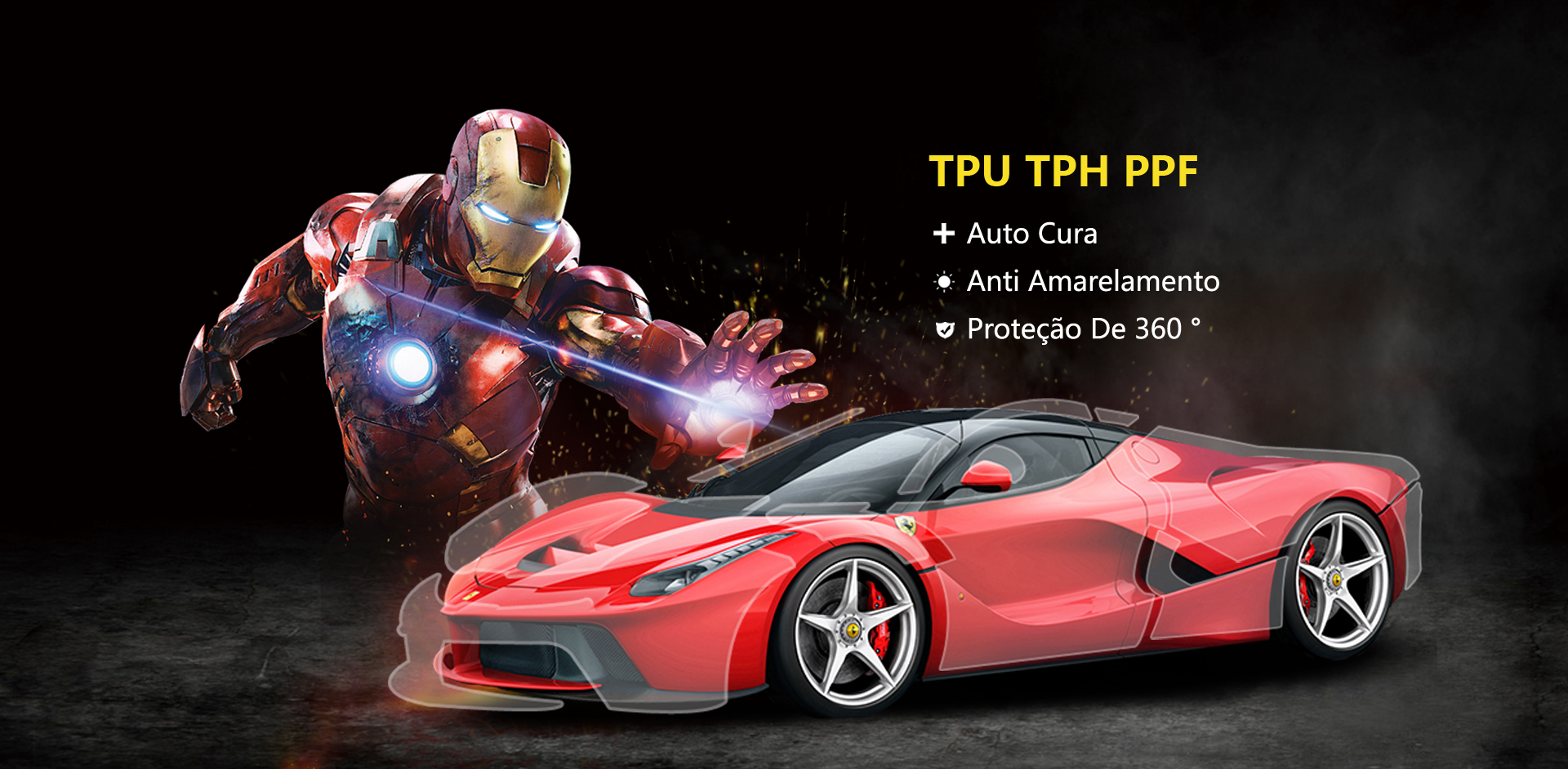 CARLIKE CL-PPF-TPU Filme de proteção de pintura de carro de arranhão automático
